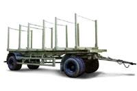 МАЗ-837810-020 - основной прицеп-сортиментовоз, применяемый в автопоездах в...
